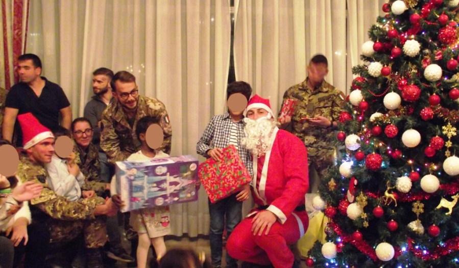 Serata di Natale con la Casa di accoglienza Sacra Famiglia, alla Caserma Soccorso Saloni di Viterbo
