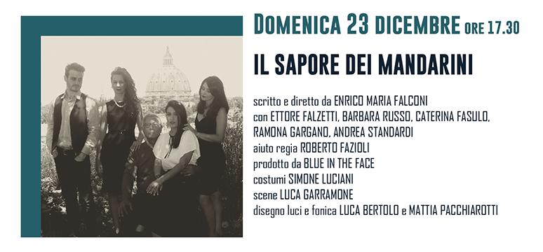 """Al Teatro Boni di Acquapendente arriva """"Il sapore dei mandarini"""", uno spettacolo di Enrico Maria Falconi"""