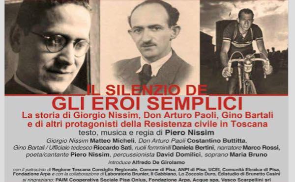"""""""Il silenzio degli eroi semplici"""" per TeatroMemoria"""
