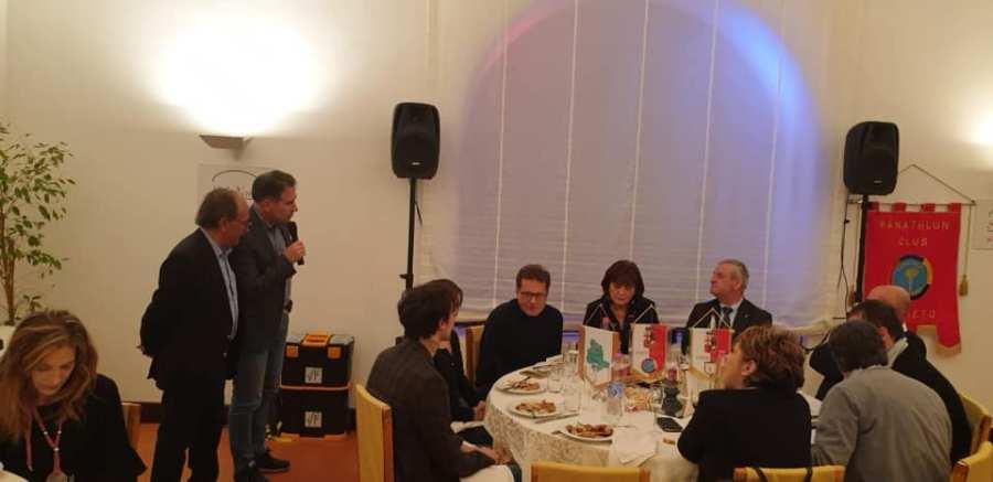 Ben oltre le aspettative l'incontro con Walter Alfredo Novellino, organizzato dal Panathlon Orvieto
