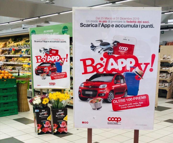 """Tutti pazzi per """"Be Happy"""", linnovativa raccolta punti firmata Coop Centro Italia"""