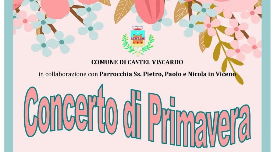 """A Castel Viscardo sboccia la bella stagione con il """"Concerto di Primavera"""""""