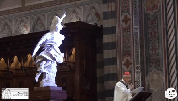 VIDEO – Cerimonia inaugurale collocazione statue dell'Annunciazione di Francesco Mochi in Duomo