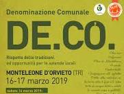 Monteleone di Orvieto, una De.Co. per lo sviluppo sostenibile
