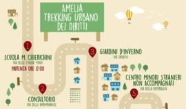 Trekking Urbano ad Amelia per parlare dei diritti delle donne