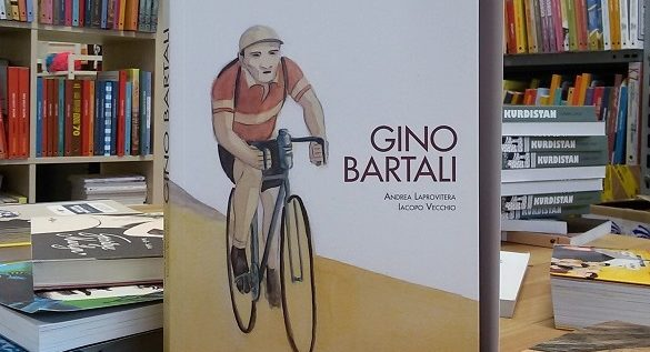 """""""Ho vinto con Bartali il Tour de France"""". Lettura della graphic novel di Andrea Laprovitera"""
