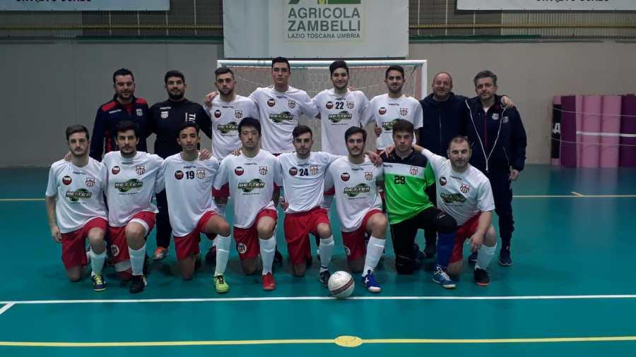 Quinta vittoria consecutiva per l'Orvieto Fc. Conquistata la permanenza al massimo campionato di calcio a 5