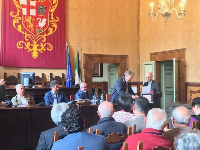 Attestato di Benemerenza per la Pro Loco di Castel Viscardo