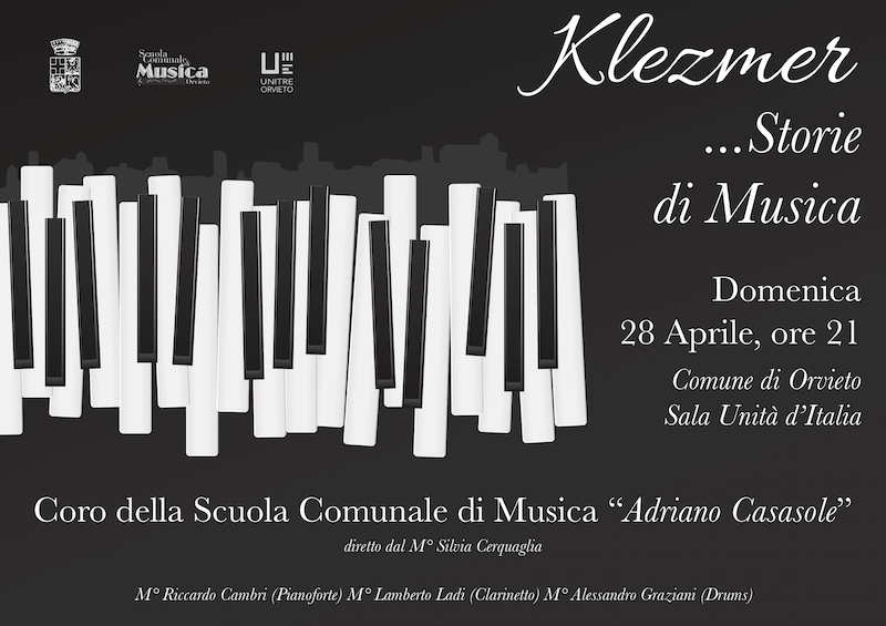 """""""Klezmer… Storie di Musica"""", concerto del Coro città di Orvieto"""