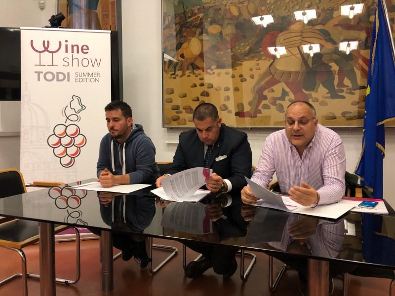 Wine Show di Todi Summer Edition 2019:  calici alzati da Todi alla Croazia