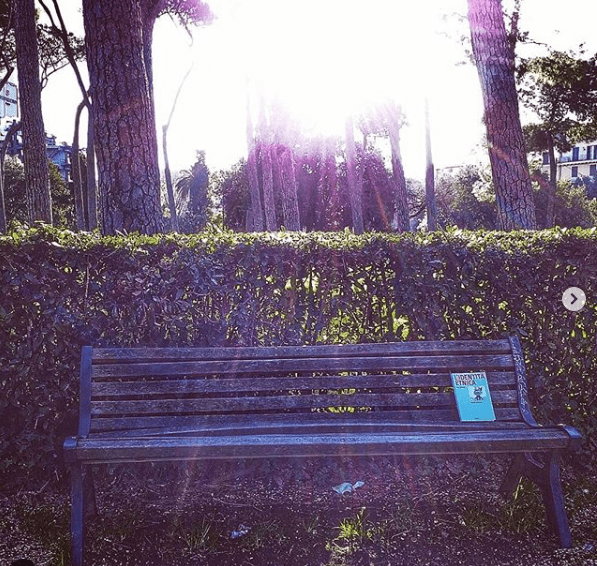 #bookcrossing sulle panchine