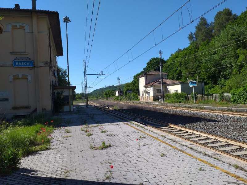 """Area Interna """"Sud Ovest Orvietano"""": """"cantierabile"""" il progetto di riconversione dell'ex scalo ferroviario di Baschi"""