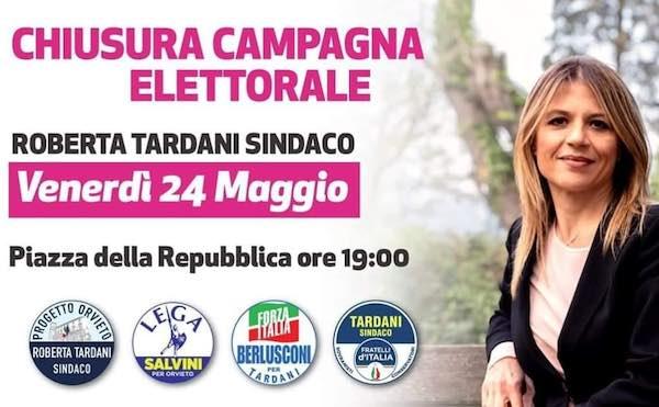 Chiusura della campagna elettorale per Roberta Tardani in Piazza della Repubblica