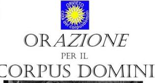 Orazione per il Corpus Domini, letture su note d'organo al Duomo