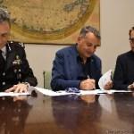 Presìdi territoriali dell'Arma: firmato il protocollo intesa fra Regione, Comando Legione Carabinieri e Provveditorato opere pubbliche