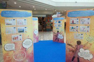 E' bello avere dei bei sogni: pensieri e disegni di alcuni bambini esposti al centro commerciale Tuscia