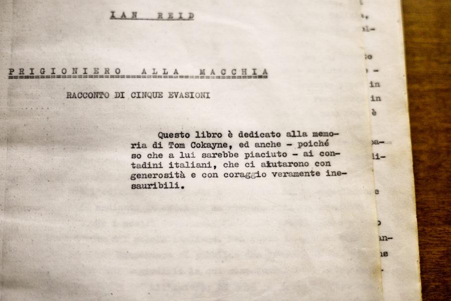 Storia di un prigioniero alla macchia, di un diario sottratto e di una traduzione ritrovata