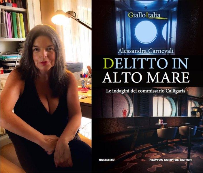 """Torna Adalgisa Calligaris con """"Delitto in alto mare"""", quarto giallo di Alessandra Carnevali"""