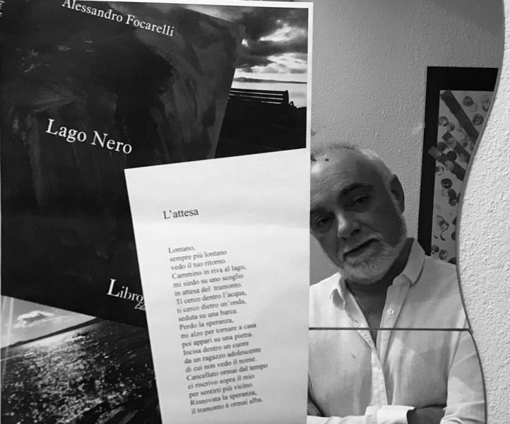 In libreria Lago nero di Alessandro Focarelli poesie sulle rive di Bolsena
