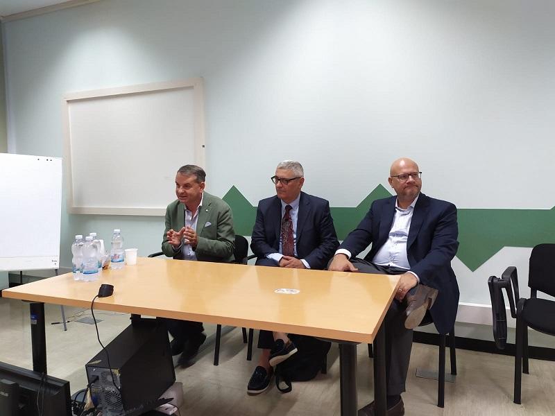 Insediamento del dottor Massimo Briganti come commissario straordinario Usl Umbria 2