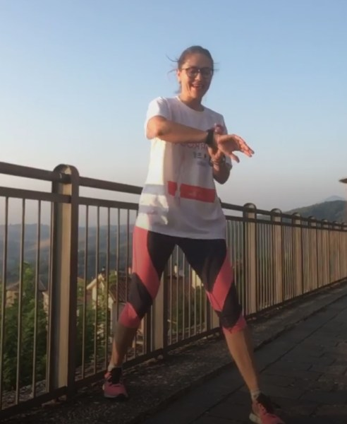 #fitnessdellafelicita 3. Allenamento con Oxana