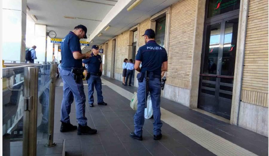 Settimana di controlli nelle stazioni e a bordo dei treni da parte della Polizia