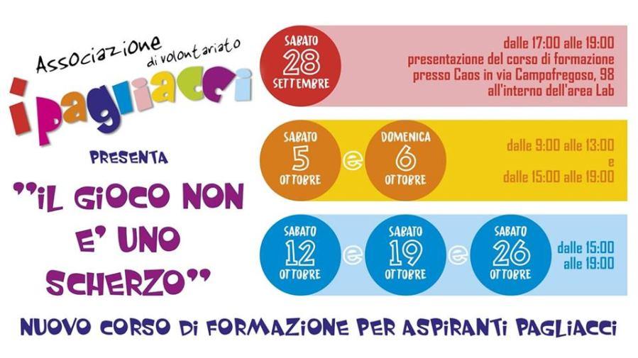 Il gioco non è uno scherzo, a Terni prende il via la formazione gratuita per aspiranti Pagliacci