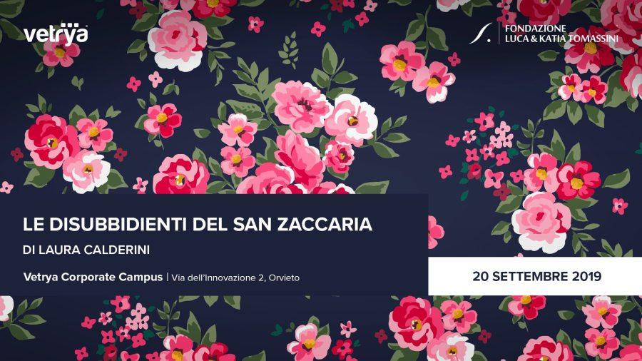 """Laura Calderini, preseta """"Le Disubbidienti del San Zaccaria"""""""