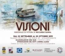"""Progetto-mostra """"Visioni"""" con l'artista Riccardo Sanna, al Palazzo Vescovile di Acquapendente"""
