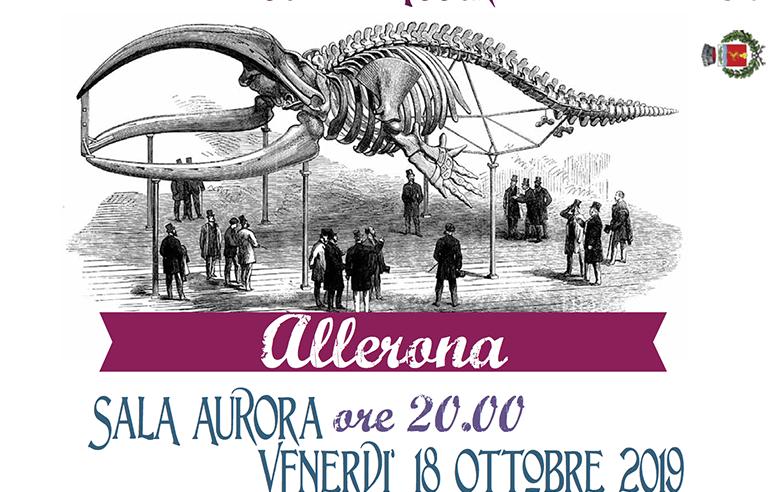 Una cena per la balena. Una raccolta fondi per il restauro del grande cetaceo del Pleistocene