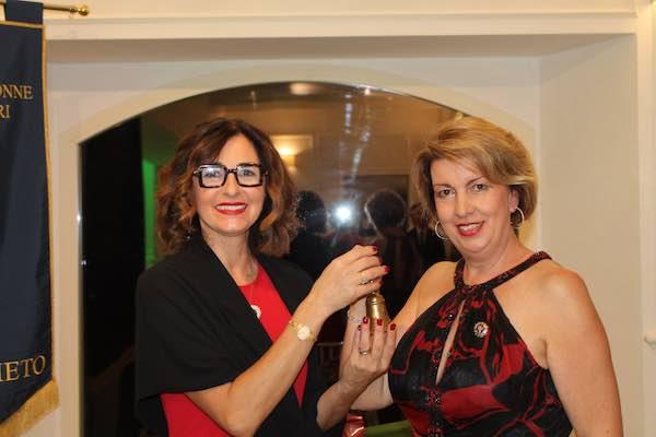 Cerimonia delle Consegne per la Fidapa di Orvieto. Le linee programmatiche della nuova presidente Laura Cicognolo