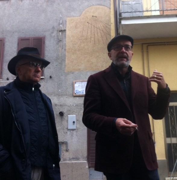 L'orologio solare ad ore italiche di Castel Viscardo