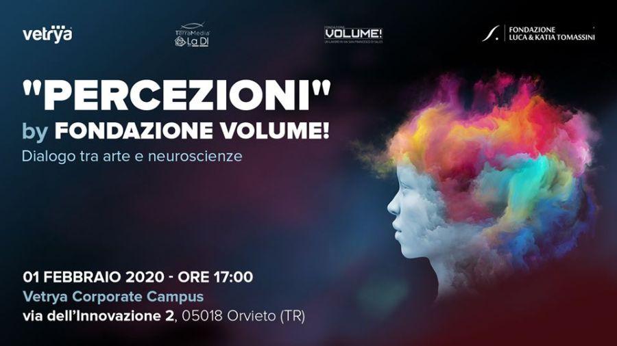 """""""Percezioni"""", in Vetrya con Fondazione Volume!"""