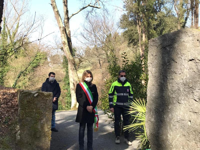 Anche in piena pandemia il sindaco ricorda il 76° anniversario dell'eccidio nazi-fascista di Camorena