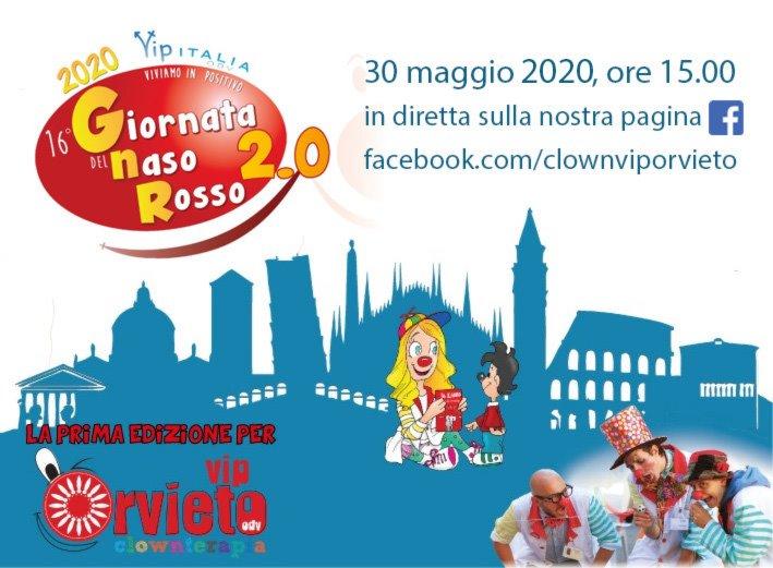 Giornata del Naso Rosso, gli spettacoli dei Clown in Corsia in diretta su Facebook