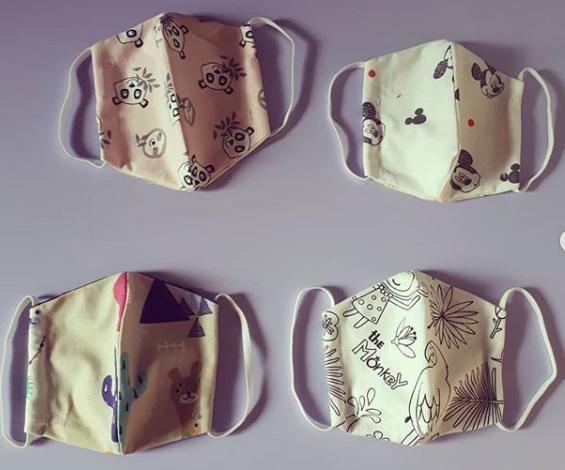 #SuLaMaschera, i proventi delle mascherine di Irene all'Associazione Chianelli e al Meyer di Firenze