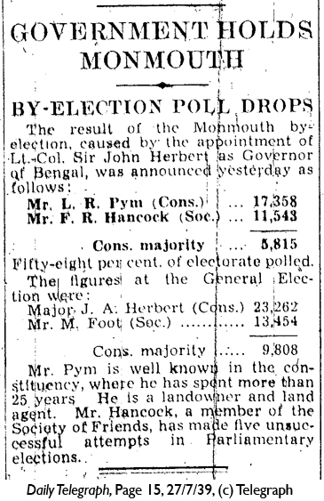 Daily Telegraph 27-7-39 Page 15