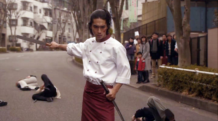 live action, preview, chonmage purin