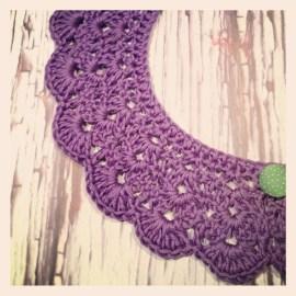 Crochet colllar