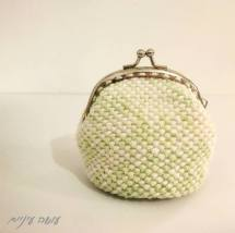 עושה עיניים - ארנק סרוג במסרגה אחת || OsaEinaim - crochet purse
