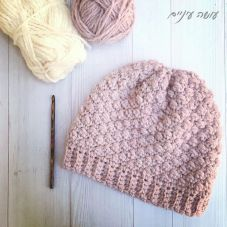 עושה עיניים - כובע סרוג במסרגה אחת || OsaEinaim - Crochet beanie