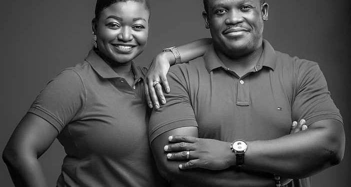 Sam George celebrates 9th marriage anniversary with wife
