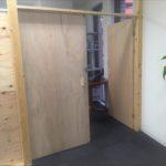 スタッフブログ:<br/ >オフィスが木の香りに。
