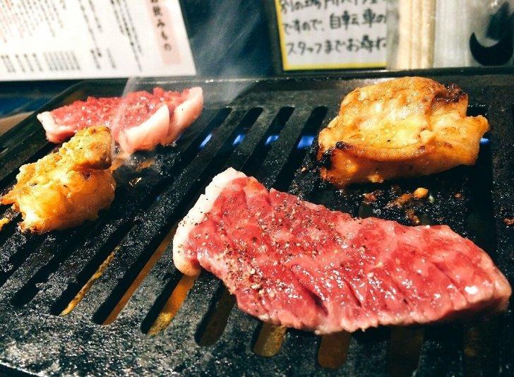 福島 立食焼肉 一穂