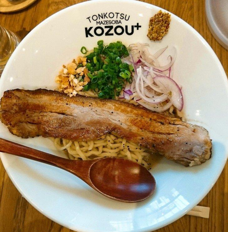 福島 豚骨まぜそば KOZOU+