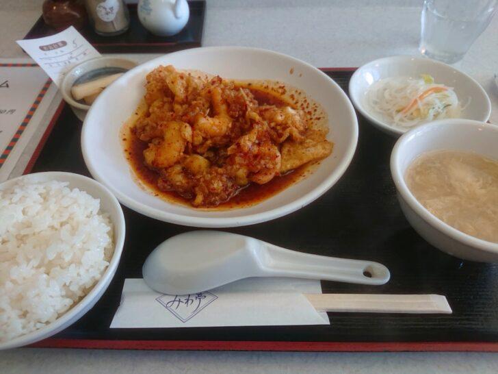 みわ亭 福島 中華料理