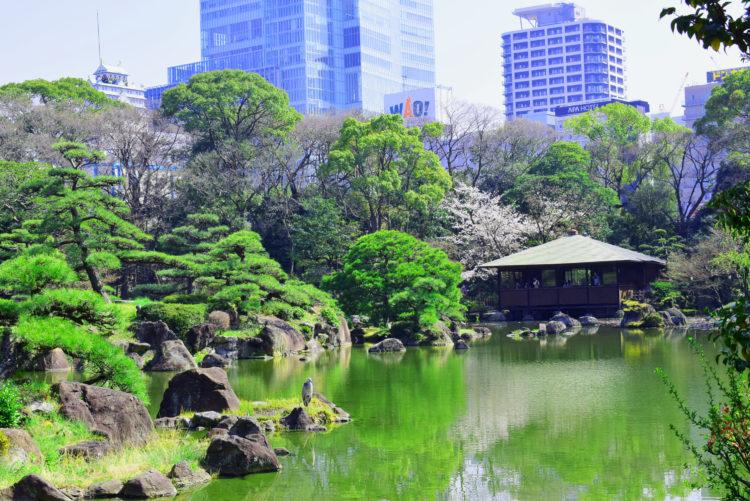 【美麗的日本庭園】位於大阪天王寺的歷史悠