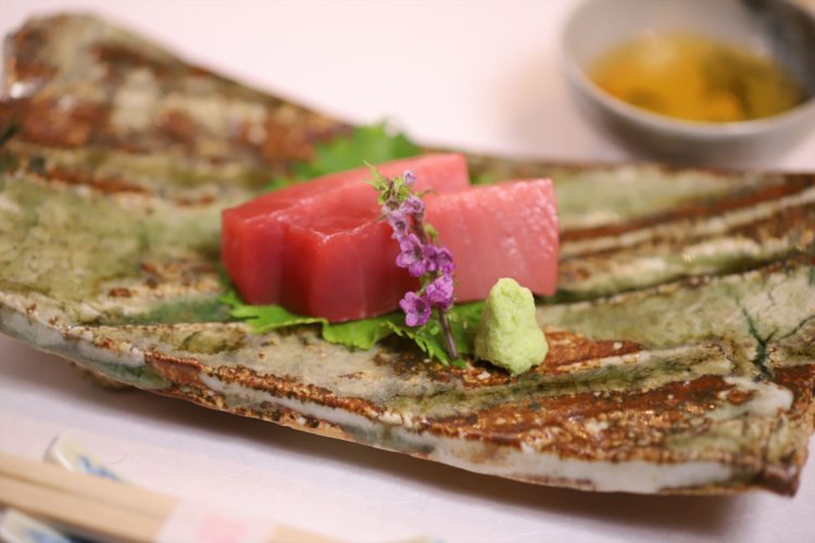 Picture of Sashimi raw sliced meat