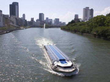 오사카 수상버스 아쿠아라이너