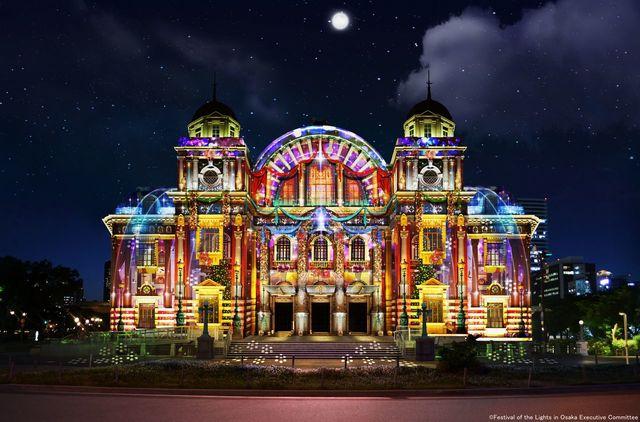 【日本彩燈】點綴大阪夜晚的燈光博物館